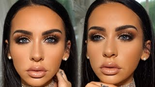 Romantic Fall Date Night Makeup | Carli Bybel