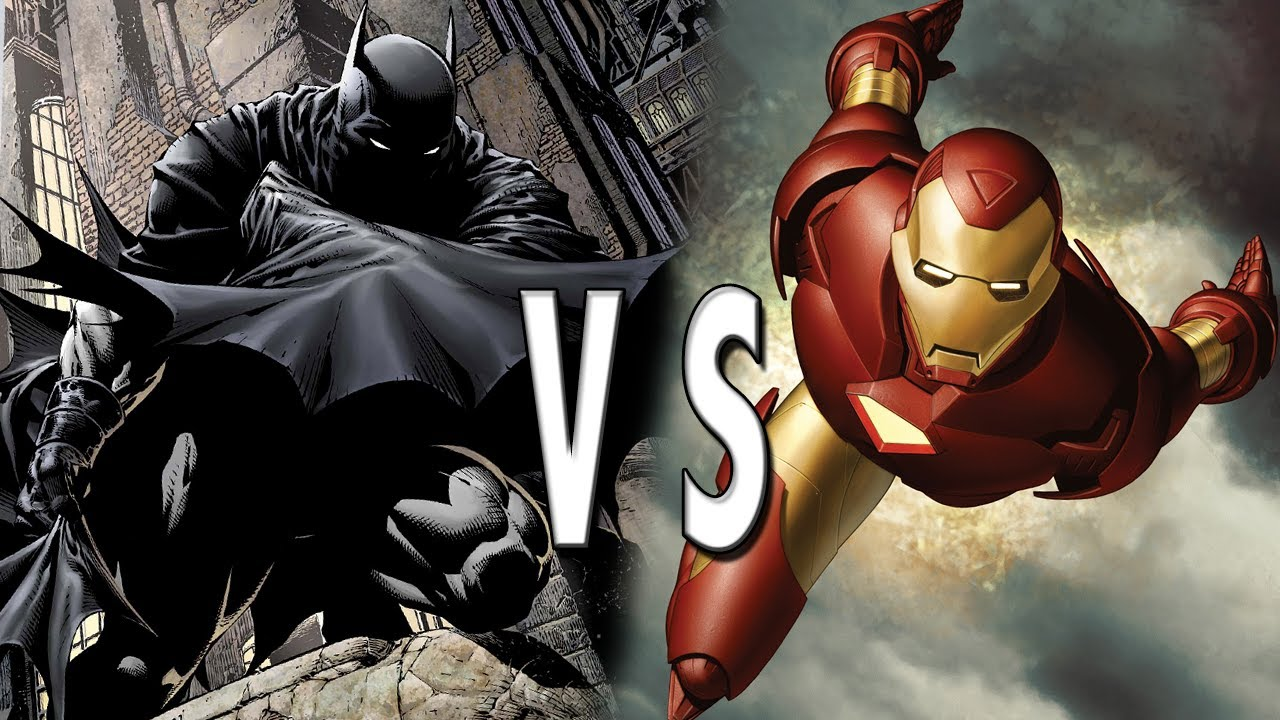 Batman VS Iron Man: Epic Battle! - YouTube
