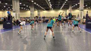 Natalie Winter | 2019 | ToT Stop 2 - Libero Highlights (Defense/Passing)
