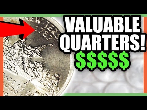 VALUABLE STATE QUARTERS WORTH MONEY!! RARE QUARTERS TO LOOK FOR!!