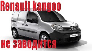 Renault kangoo ашылмайды