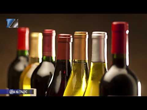 С 1 января 2019 года возрастет стоимость алкоголя