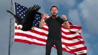 The most patriotic version of the most intense inspirational speech ever by Shia LaBeouf