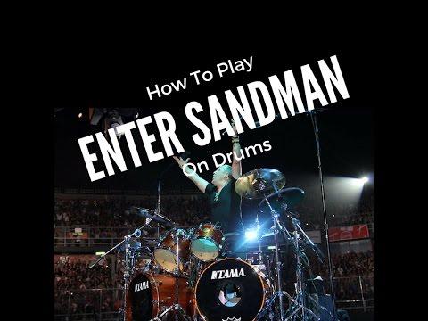 Play Metallica Enter Sandman : how to play drums like lars enter sandman metallica youtube ~ Russianpoet.info Haus und Dekorationen