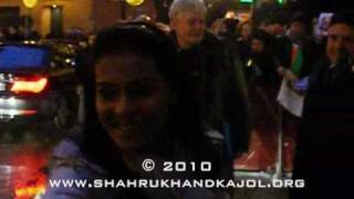 SRK and Kajol in Berlin - Hyatt 12.02.2010