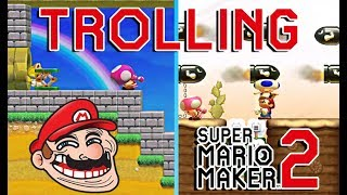 10 Minutes of Trolling in Multiplayer Versus in SMM2