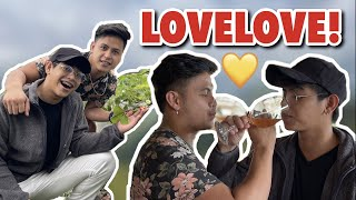 DATE WITH BUNSO JAPET CAPUNO AND THE SQUAD | GLESTER CAPUNO