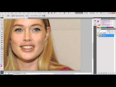 Grafik Tasarım Kursu Eğitimi Videosu - photoshopta saç rengi değiştirme