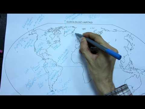 Dünya Haritası Tanıtımı - Coğrafya