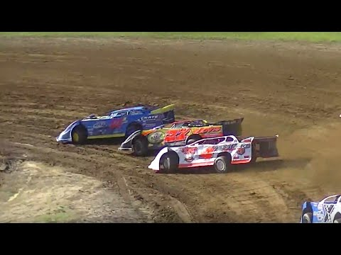 RUSH Crate Late Model Heat Two | McKean County Raceway | Fall Classic | 10-10-15