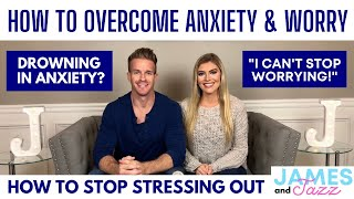 How To Stop Being Anxious and Stressed || Drowning In Anxiety || I Can't Stop Worrying || Worry