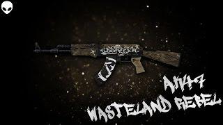 AK-47   Wasteland Rebel for cs 1.6