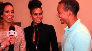 Basketball Wives LA Gloria & Laura Govan talk hair with Celebrity Hairstylist Troy Turner & I