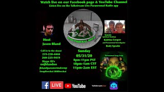 Paranormal Soup Ep 226 guests Katrina Cooper and Rody Speake