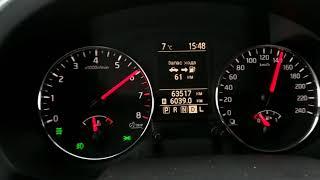 Nissan X-trail t31 2.0 CVT 0-150 км/ч