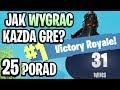 25 PORAD DO FORTNITE - Jak wygrać każdą grę? [LEESOO]