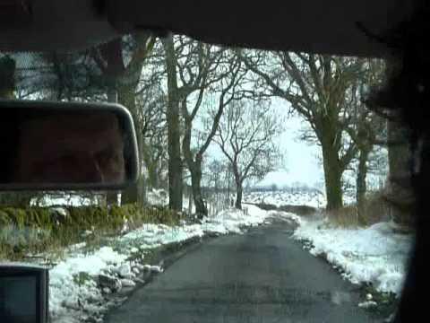 Driving in Scotland in April