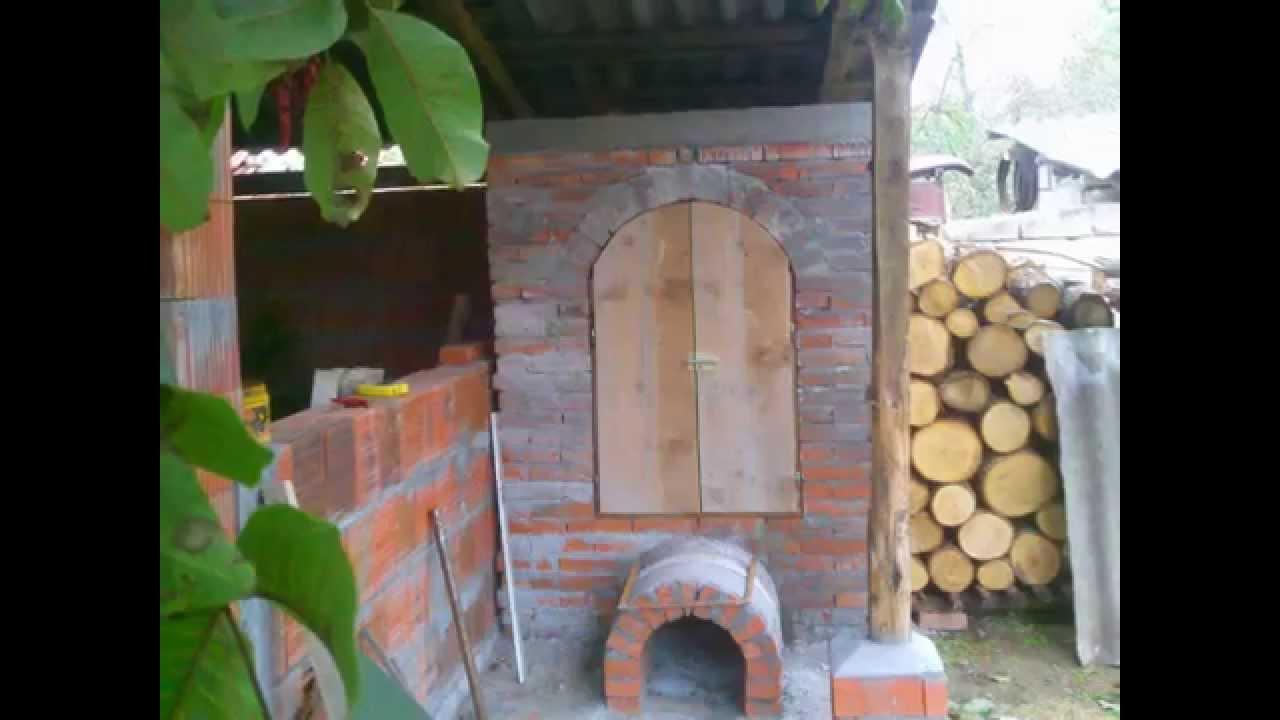 Pušnica za meso, ražanj - YouTube