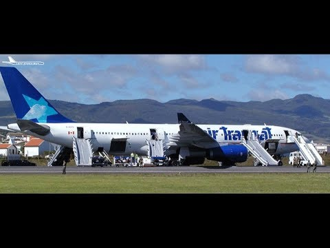 FS2004 - Flying on Empty (Air Transat Flight 236)