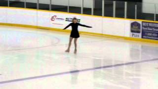 junior bronze skills-waltzing three turns