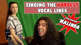Singing the HARDEST Vocal Lines (feat. MALINDA)
