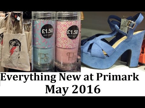 Everything new at Primark   May 2016   IlovePrimark