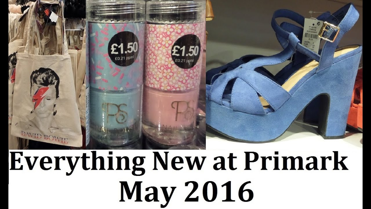 Everything new at Primark | May 2016