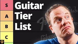 Nate Savage's Guitar Brand Tier List
