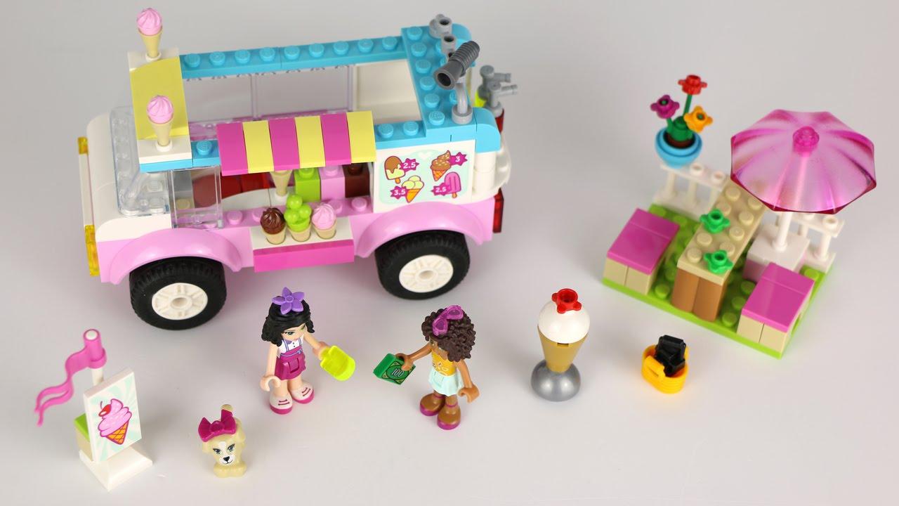 Lego Juniors Friends Emmas Ice Cream Truck Review 10727 Youtube