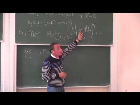 Lecture 1 | Harmonic analysis methods and the regularity pro