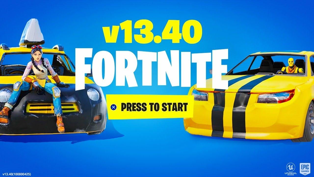 *LIVE* FORTNITE CARS UPDATE! (Cars Gameplay)