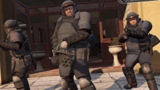 GTA V: Juggernaut Bank Heist