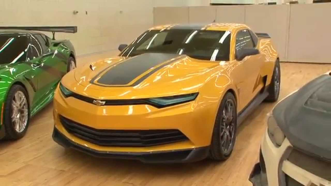 Transformers Age of Extinction Camaro Bumble Bee  YouTube
