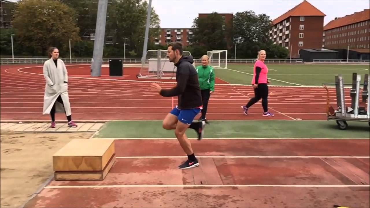 Bevægelsesanalyse - Længdespring