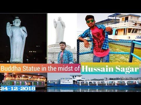 Lumbini Park🔥Hussain Sagar 🔥Buddha Statue 🔥Hussain Sagar 🔥 hyderabad tourist place 🔥HD