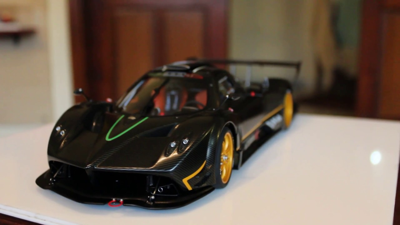 Pagani zonda r 2009 118 scale diecast by auto art youtube pagani zonda r 2009 118 scale diecast by auto art vanachro Image collections