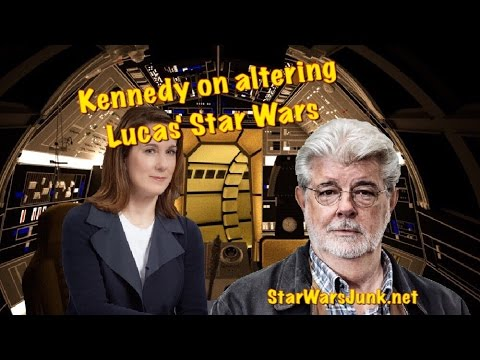 Thumbnail: Kathleen Kennedy on Altering Star Wars