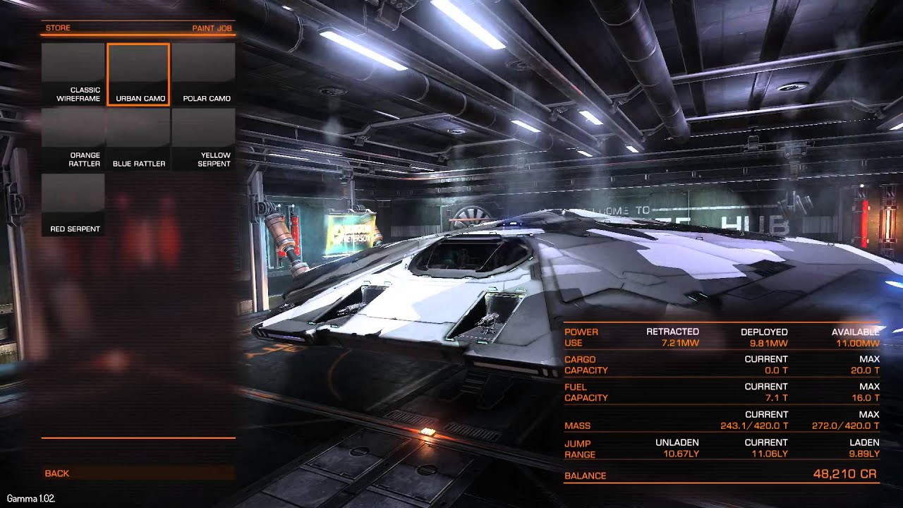 Elite Dangerous Paint Jobs Free