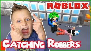 Catching Robbers / Roblox RoCitizens