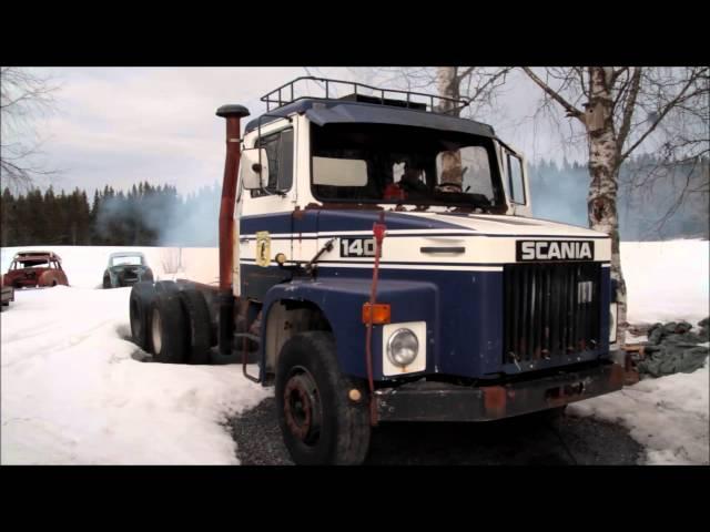 Scania 140 Uppstart efter vintervila