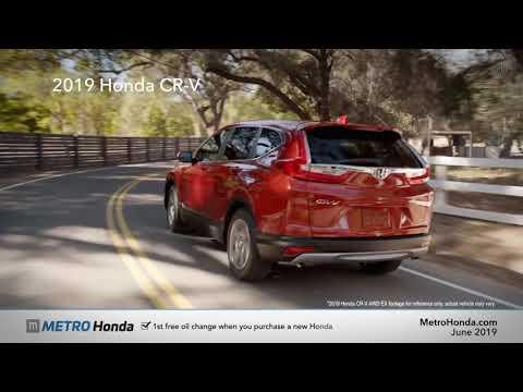 2019 Honda CR-V EX 2WD - Metro Honda (June Specials)