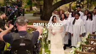 Demi Lovato Tell Me You Love Me  Behind the Scenes