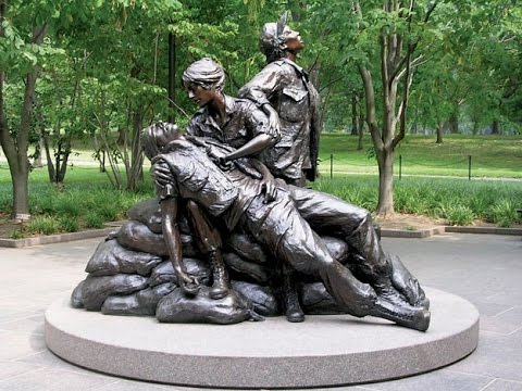 Vietnam Nurses  Vietnam Women's Memorial  Documentary With Dana Delany