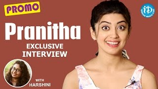 Actress Pranitha Exclusive Interview - Promo || Talking Movies With iDream