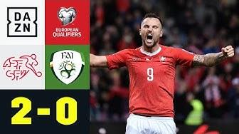Seferovic trifft - Nati gewinnt: Schweiz - Irland 2:0 | EM-Quali | DAZN Highlights