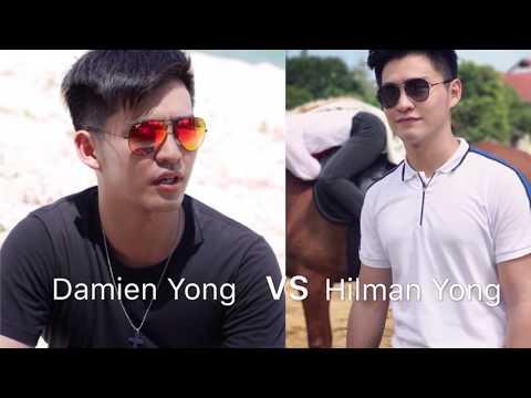 Damien Yong VS Hilman Yong - Awak Suka Saya Tak