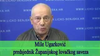 Lički lovci sa županom i državim tajnikom/Snimio Marko Čuljat Lika press Gospić