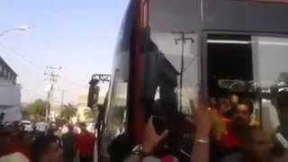 Video revela que Maduro botó el mango que le pegaron por la cabeza