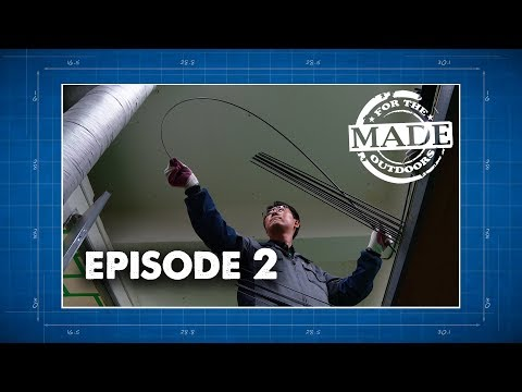 Made For The Outdoors (2017) Episode 2: Temple Fork Outfitters Fishing Rod