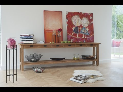 wohnzimmer modern und gem tlich einrichten wohnidee sideboard scott teakholz varia living. Black Bedroom Furniture Sets. Home Design Ideas